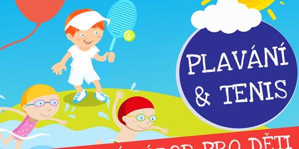 Letní tábor 2020 - plavání a tenis